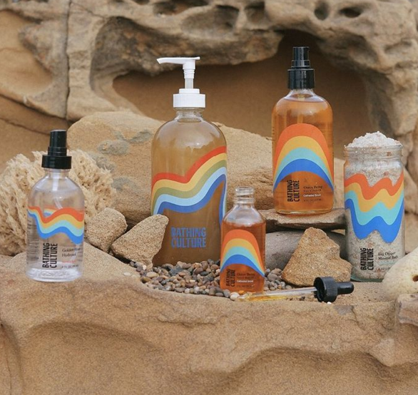 Bathing Culture's soaps and shampoos