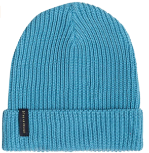 useful beanie hat made from recycled ocean plastic