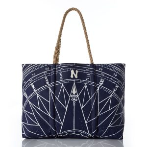 useful bag tote made from recycled rope and sails