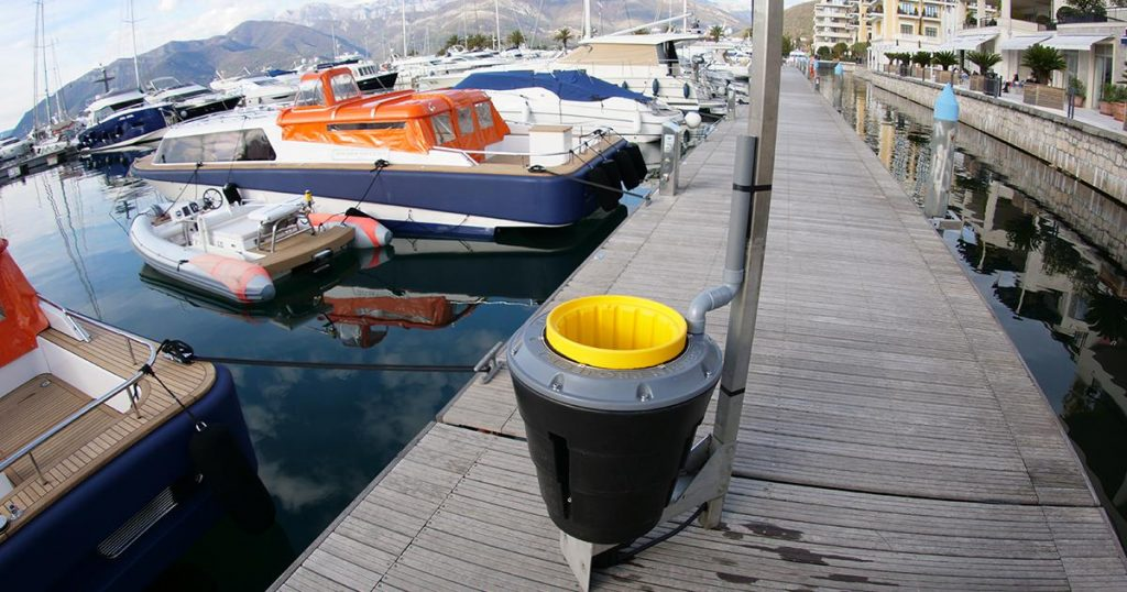 floating plastic remover, the seabin