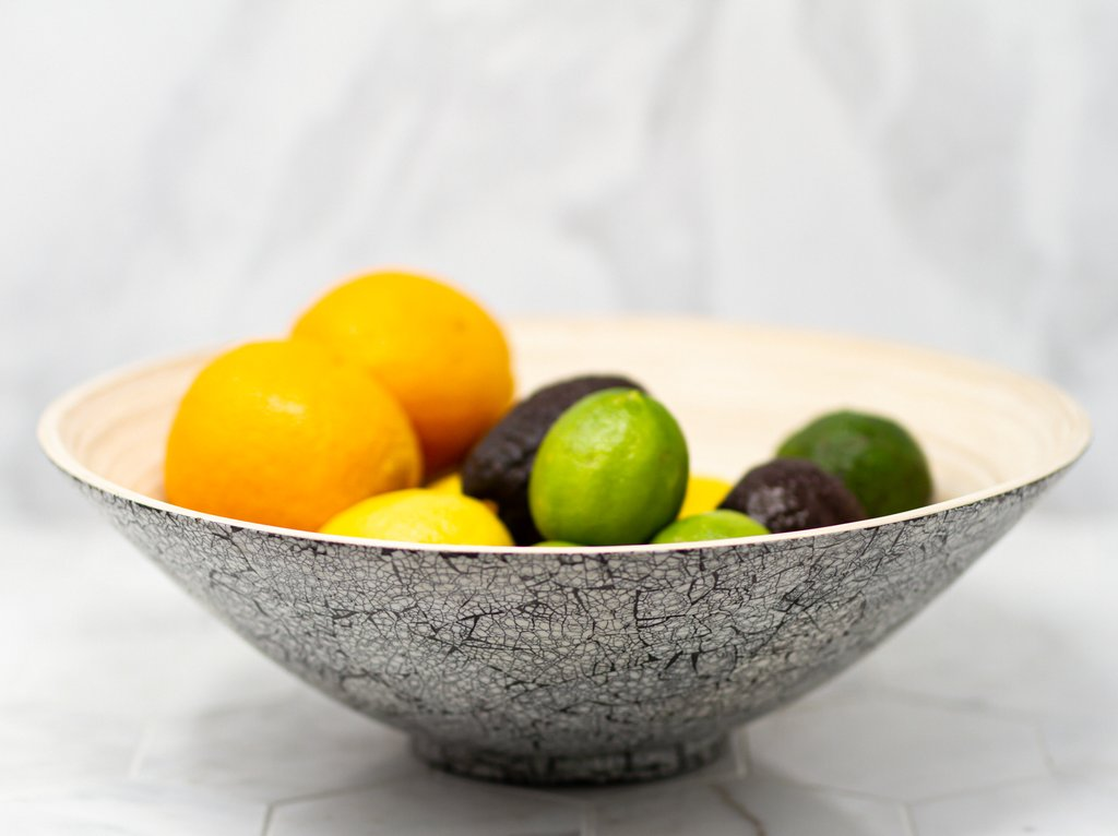 Itemerie - Handmade Bamboo Salad Bowl