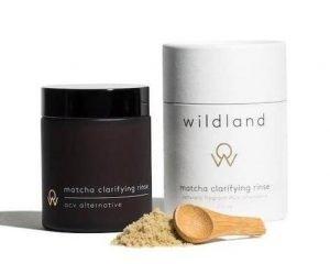 Wildland's Matcha Clarifying Rinse