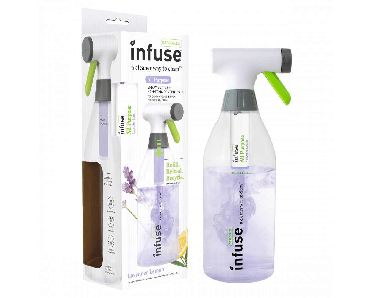 Infused Concentrates Spray Bottle