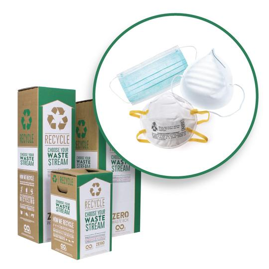 Terracycle mask recycling boxes