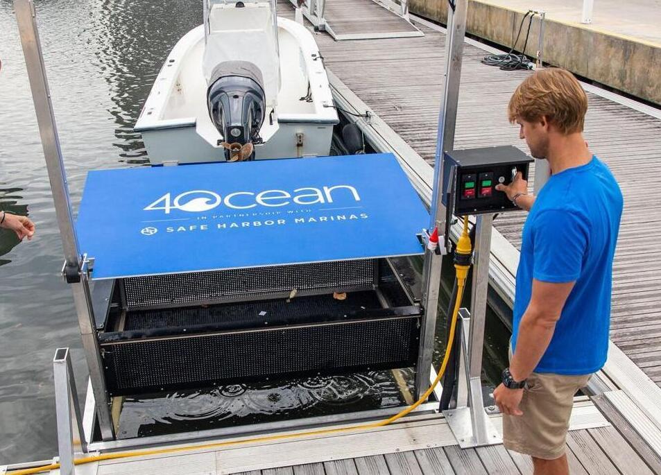 4Ocean floating plastic collector