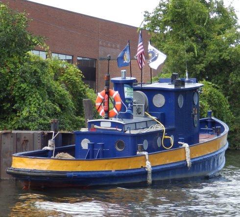 Tender #4 electric workboat