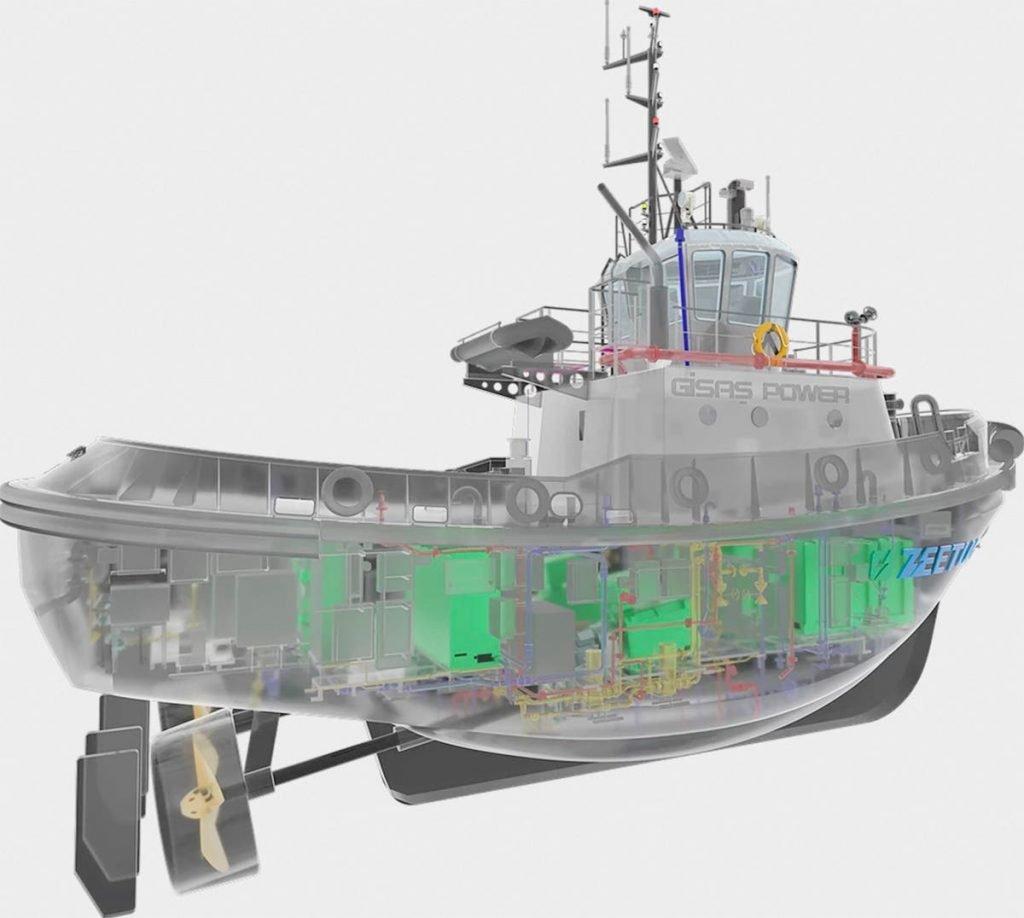 Zeetug electric tugboat