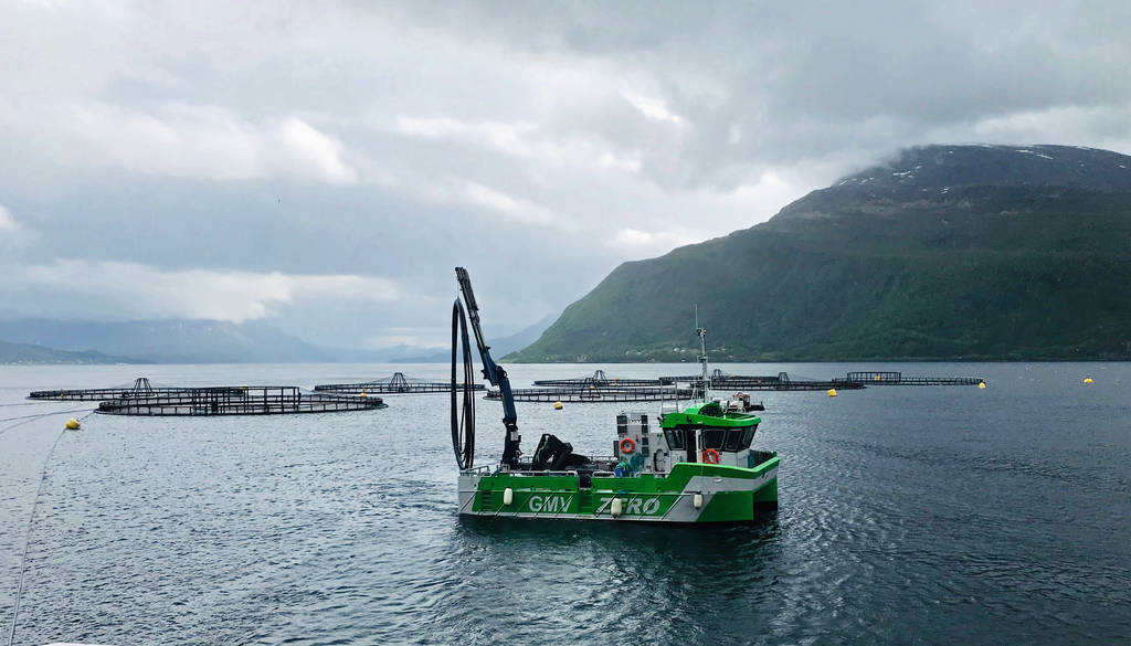Astrid Helene electric fishing workboat