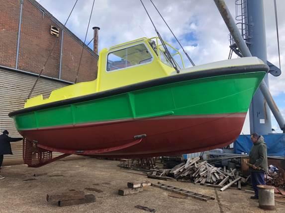 Schlieker Shipyard electric workboat