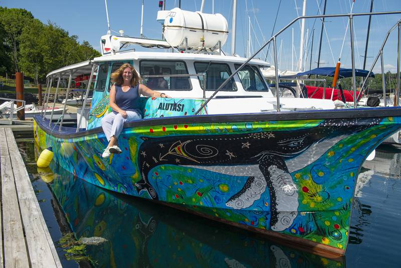 glas Electric ocean fishing boat
