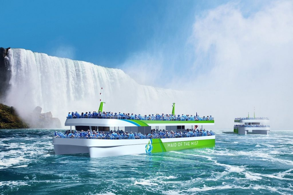 maid of the mist ferry boat