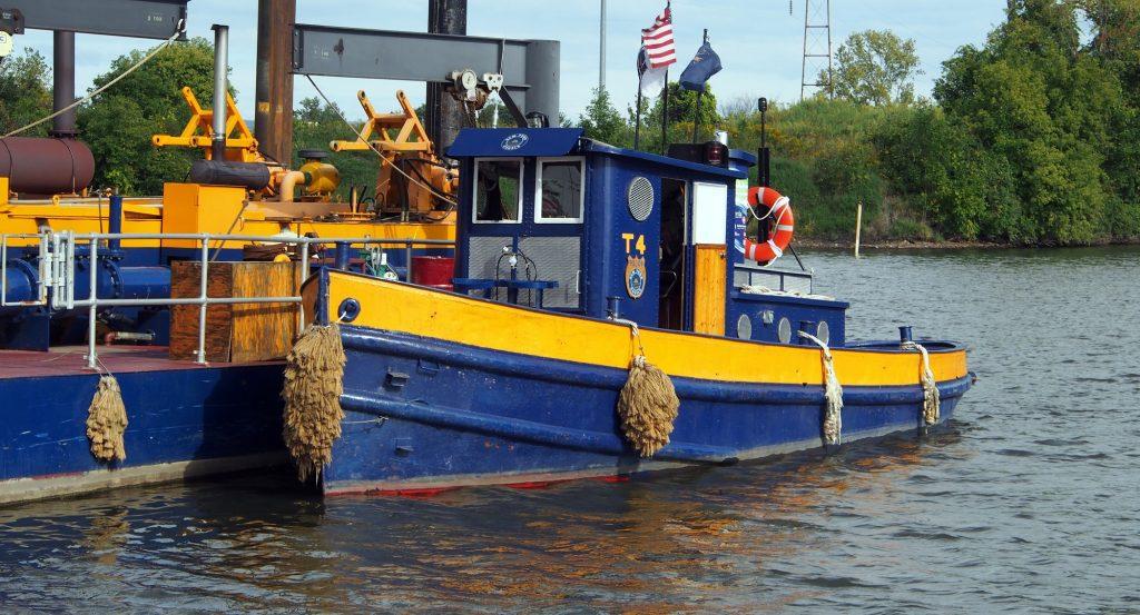 Tender #4 workboat