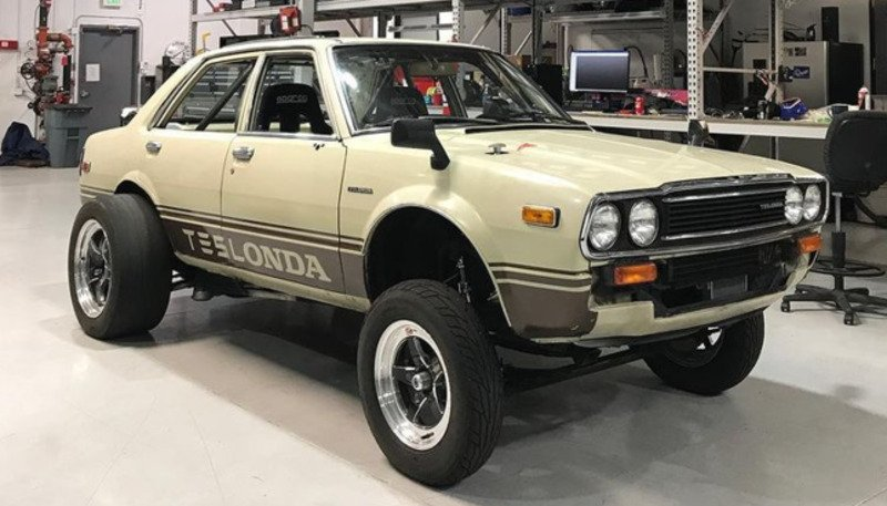 81 Teslonda electric swapped car