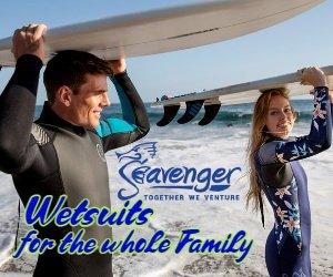 Seavenger Wetsuits for Men Women and Children
